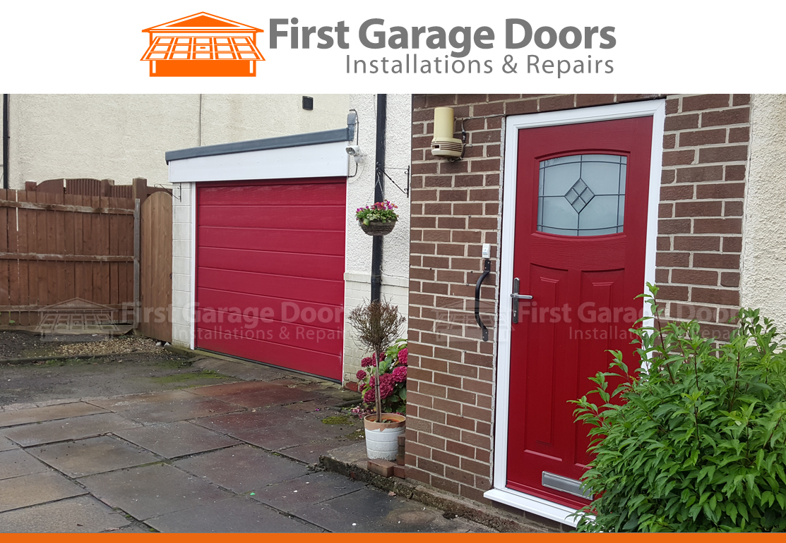 770 #BE530D Garage Door Fitted To Match Composite Door Colour Of Door And Frame pic First Garage Doors 36211113